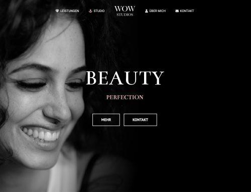 Neue Homepage ist Online – WOW Studios Düsseldorf
