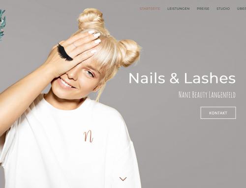 Nani Beauty Langenfeld ist Online