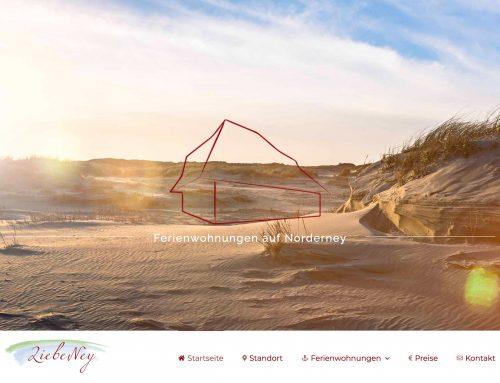 Liebeney ist Online die Ferienwohnungen auf Norderney
